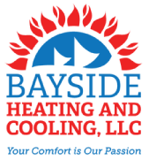 Bayside Heating and Cooling Logo